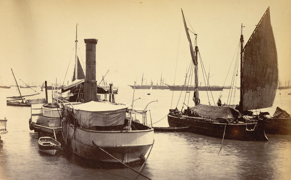 [Bombay Harbour] Docks.